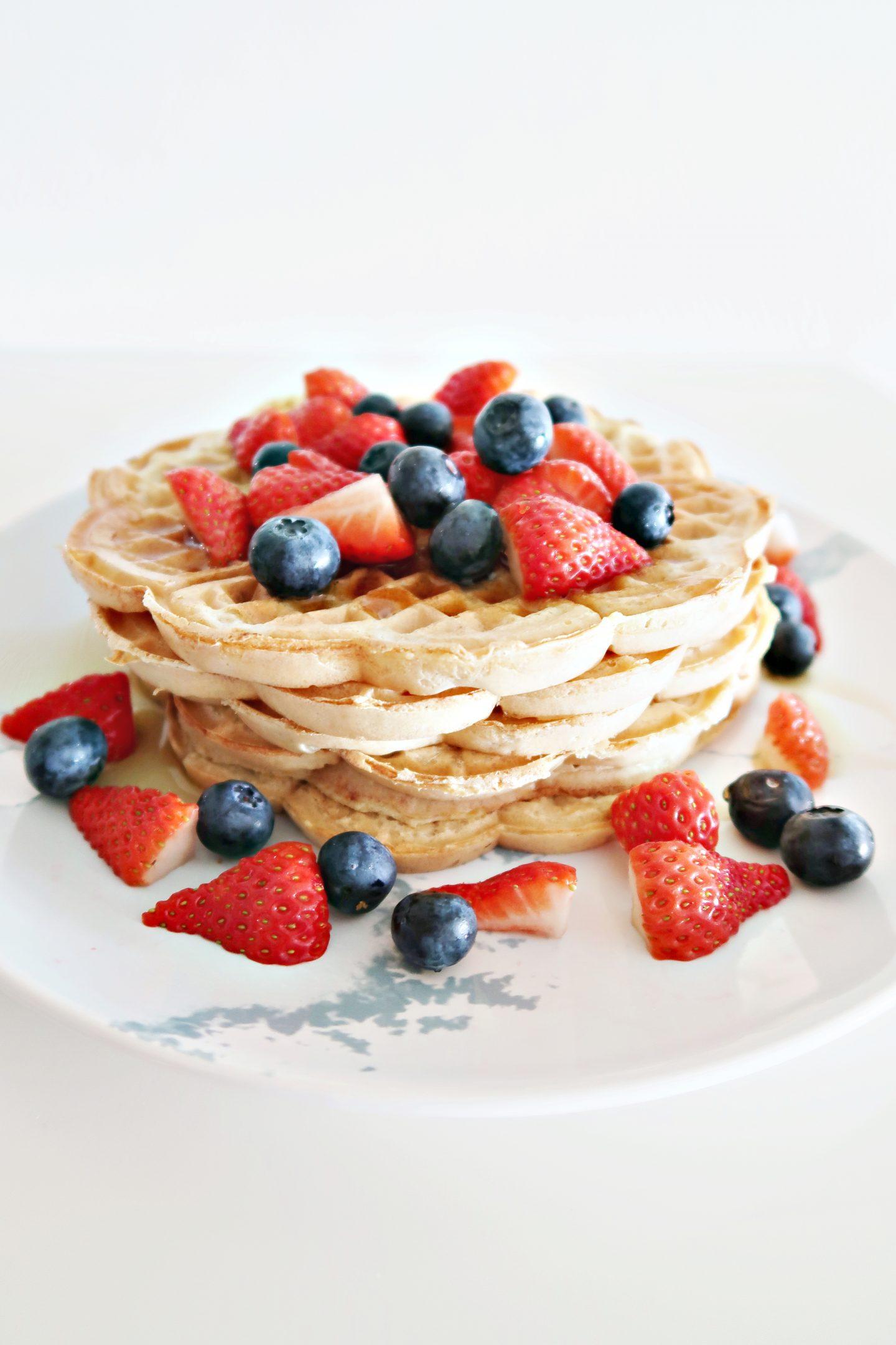 vegan norwegian waffles